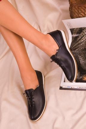 SOHO Siyah Mat  Kadın Casual Ayakkabı 16017