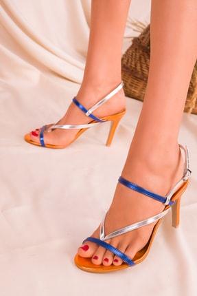 SOHO Turuncu Renkli  Kadın Klasik Topuklu Ayakkabı 16069