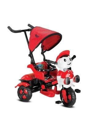 BabyHope Kırmızı Siyah Hope Yupp Üç Tekerli Kontrollü Bisiklet