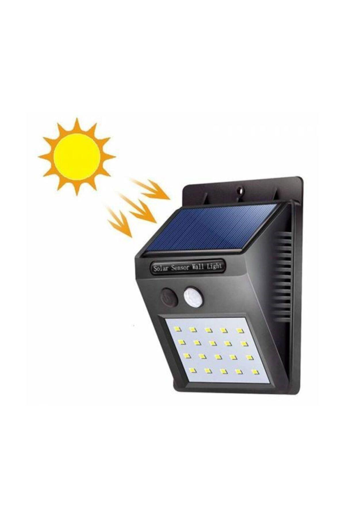 Starmax Solar Sensörlü 20 Led Bahçe Aydınlatma 2