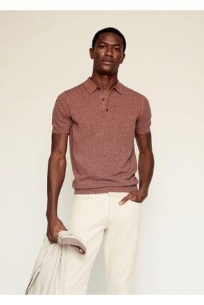 MANGO Man Karışımlı Polo Gömlek