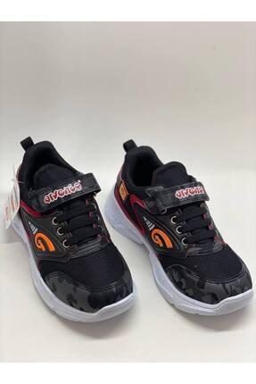 Arvento Çocuk Siyah Bantlı Spor Ayakkabı