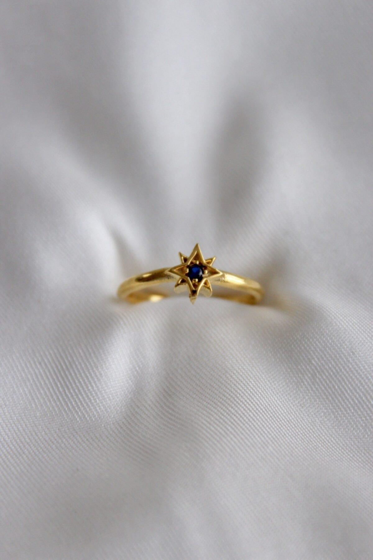 Neslihan's Jewelry Ayarlanabilir Kutup Yıldızı Yüzük 1