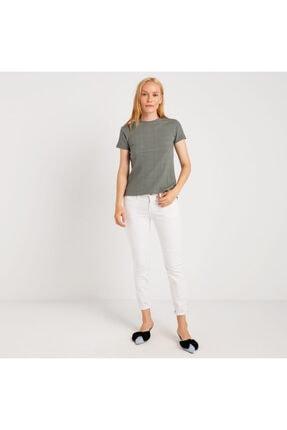 Mustang Kadın T-shirt Haki