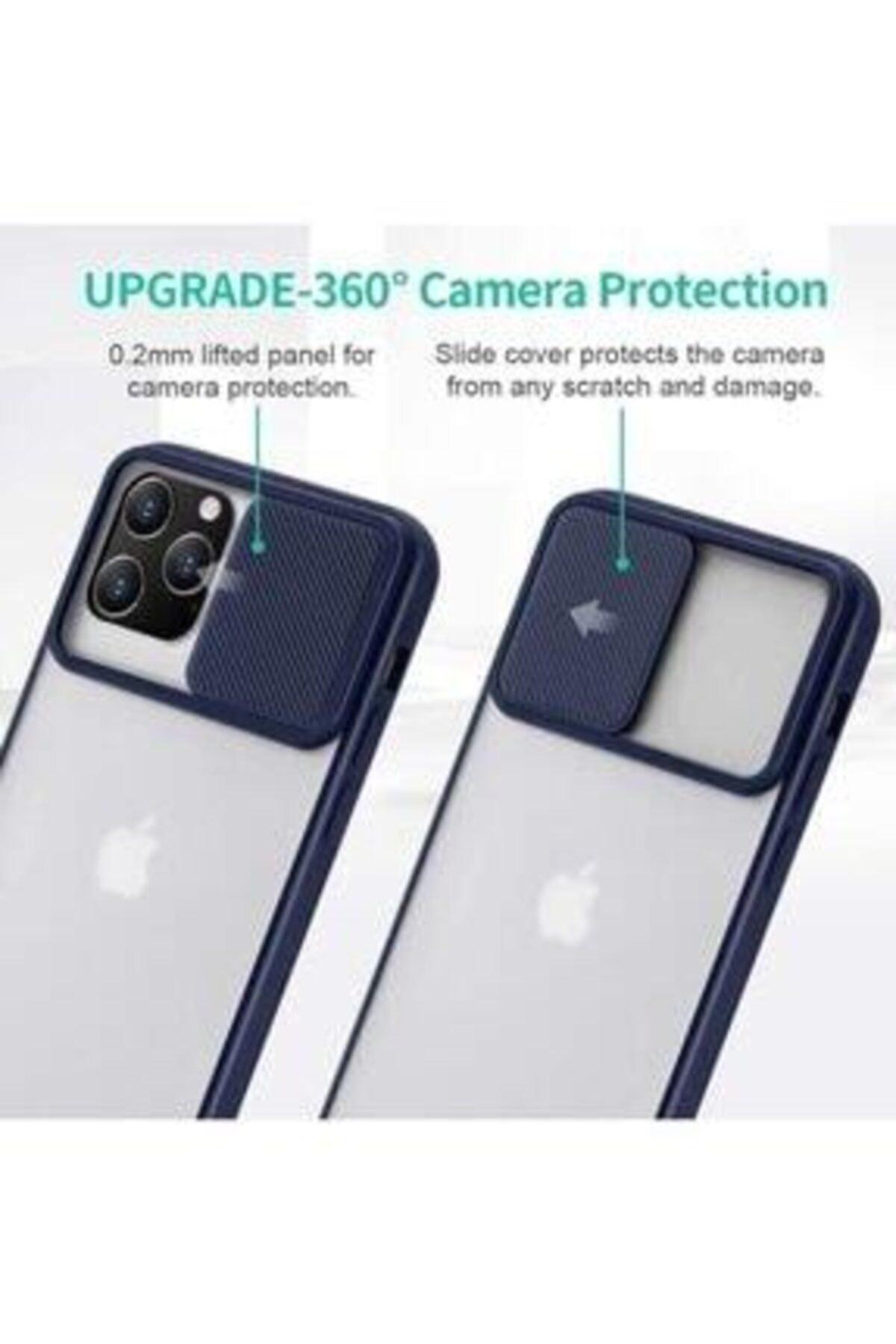 ULS Iphone 12 Pro Max Uyumlu Kamera Lens Korumalı Sürgülü Kılıf 2