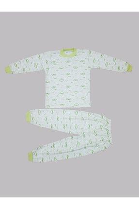 Karaca Unisex Yeşil Baskılı Pijama Takımı