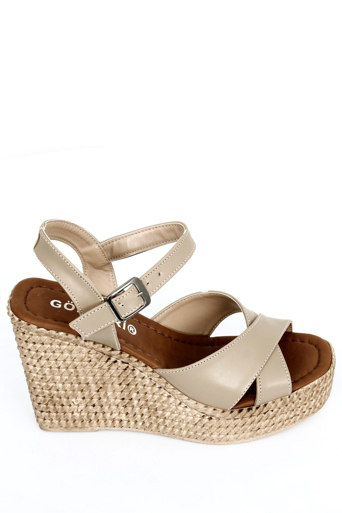 GÖNDERİ(R) Vizon Kadın Sandalet 40533 2