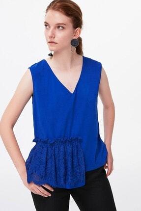 İpekyol Kadın Saks  Bluz
