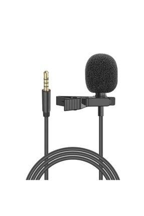 Snopy Sn-m20 Siyah Akıllı Telefon Ve Youtuber Metal Mandallı Yaka Mikrofonu