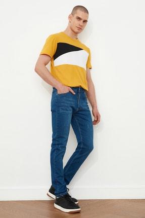 TRENDYOL MAN Indigo Erkek Skinny Fit Jeans TMNSS21JE0218