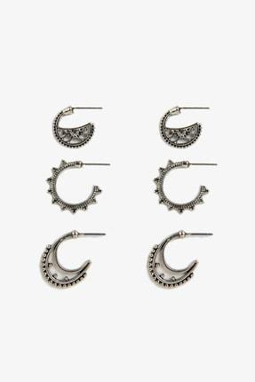 Koton Kadın Açık Gümüş Bijuteri Küpe 9YAL78026AA
