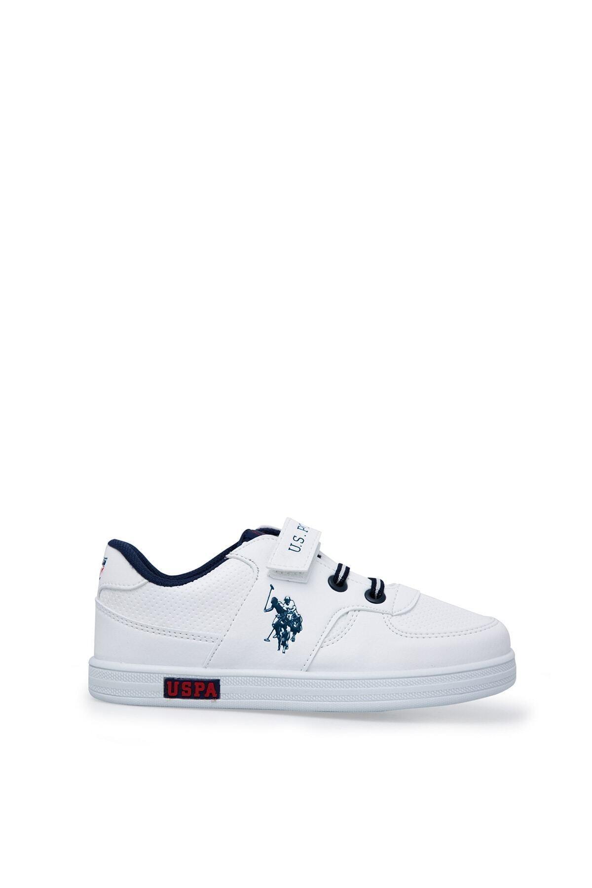 U.S. Polo Assn. Cameron Beyaz Erkek Çocuk Sneaker Ayakkabı 100380400 1
