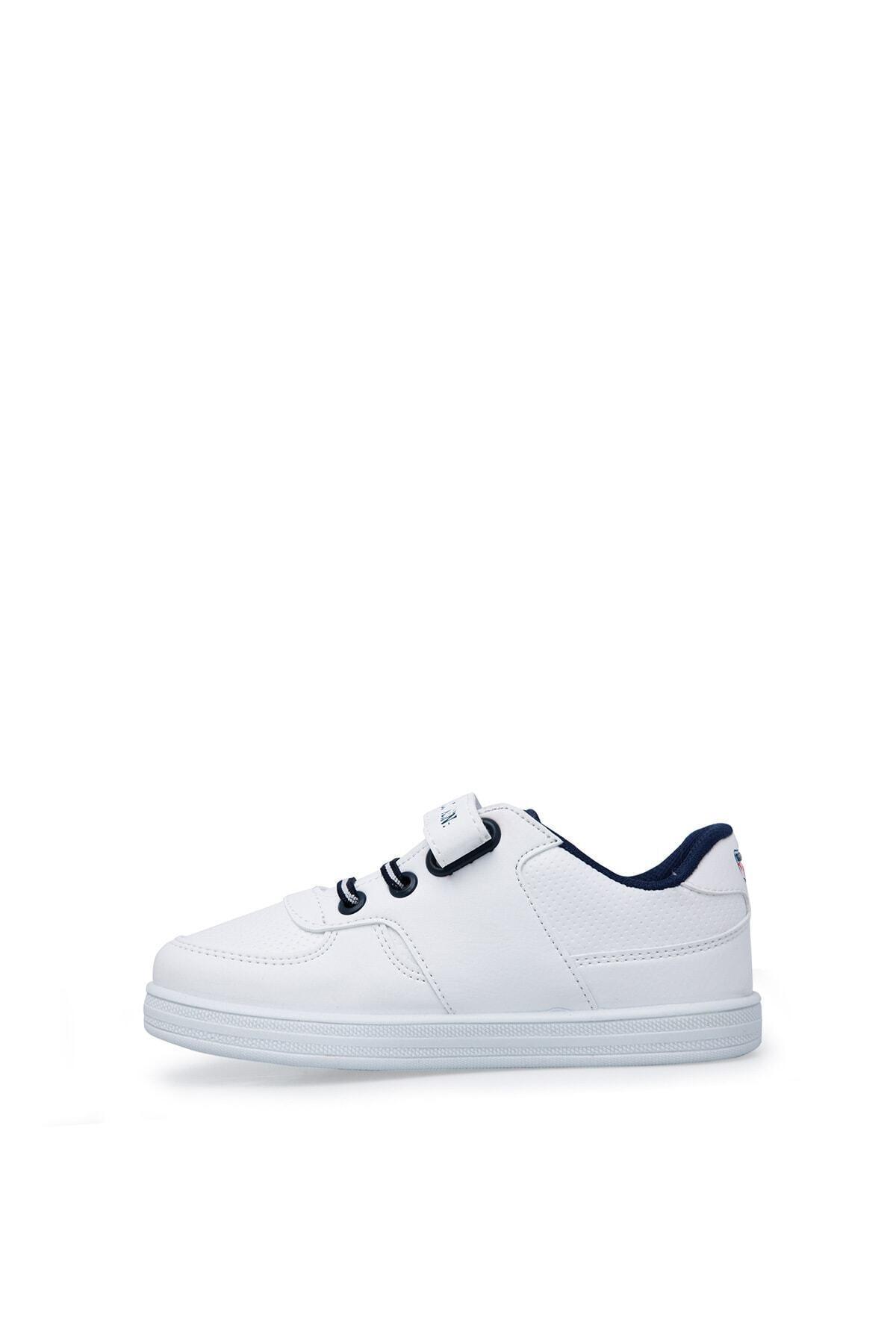 U.S. Polo Assn. Cameron Beyaz Erkek Çocuk Sneaker Ayakkabı 100380400 2