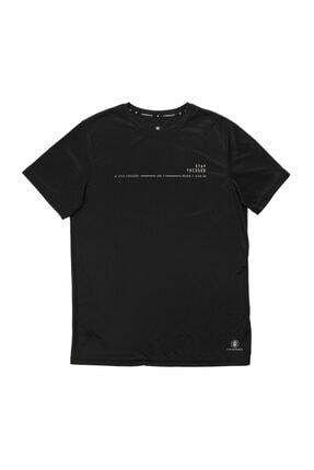 lumberjack CT384 ARMY MINIMAL T-SHIR Siyah Erkek T-Shirt 100582721