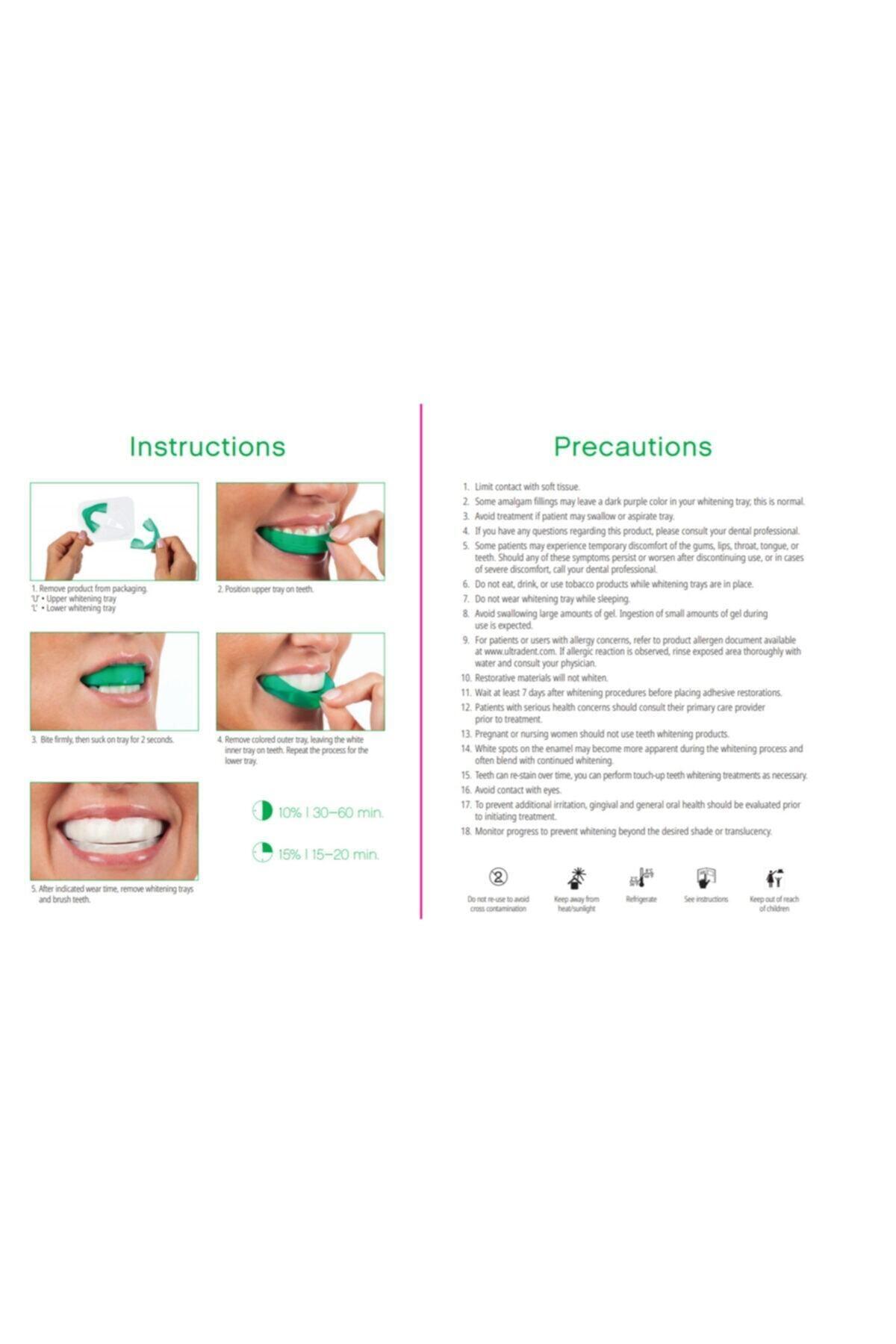 Opalescence Ultradent Go 8'li Diş Beyazlatma Hazır Kalıp-kavun 2