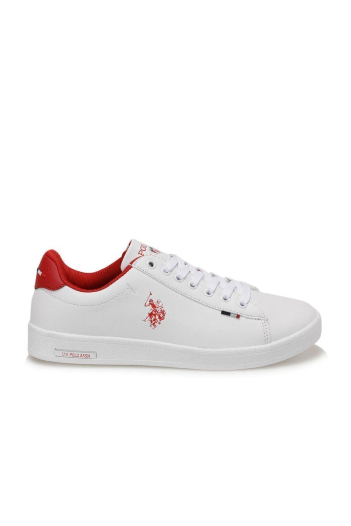 U.S. Polo Assn. FRANCO DHM Beyaz  Sneaker Ayakkabı 100548973 2