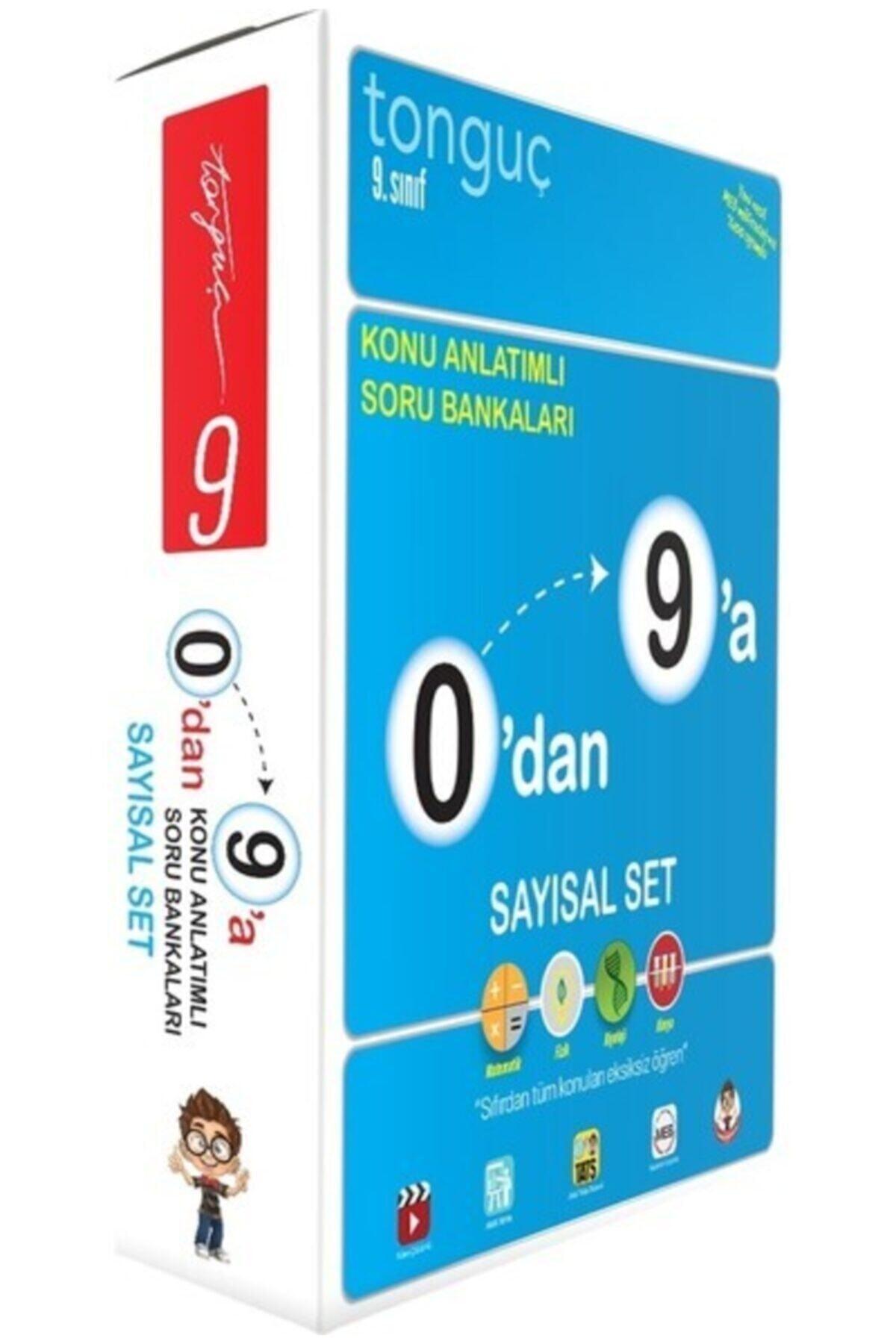 Tonguç Akademi Tonguç 0 Dan 9 A Konu Anlatımlı Soru Bankası Sayısal Set 1