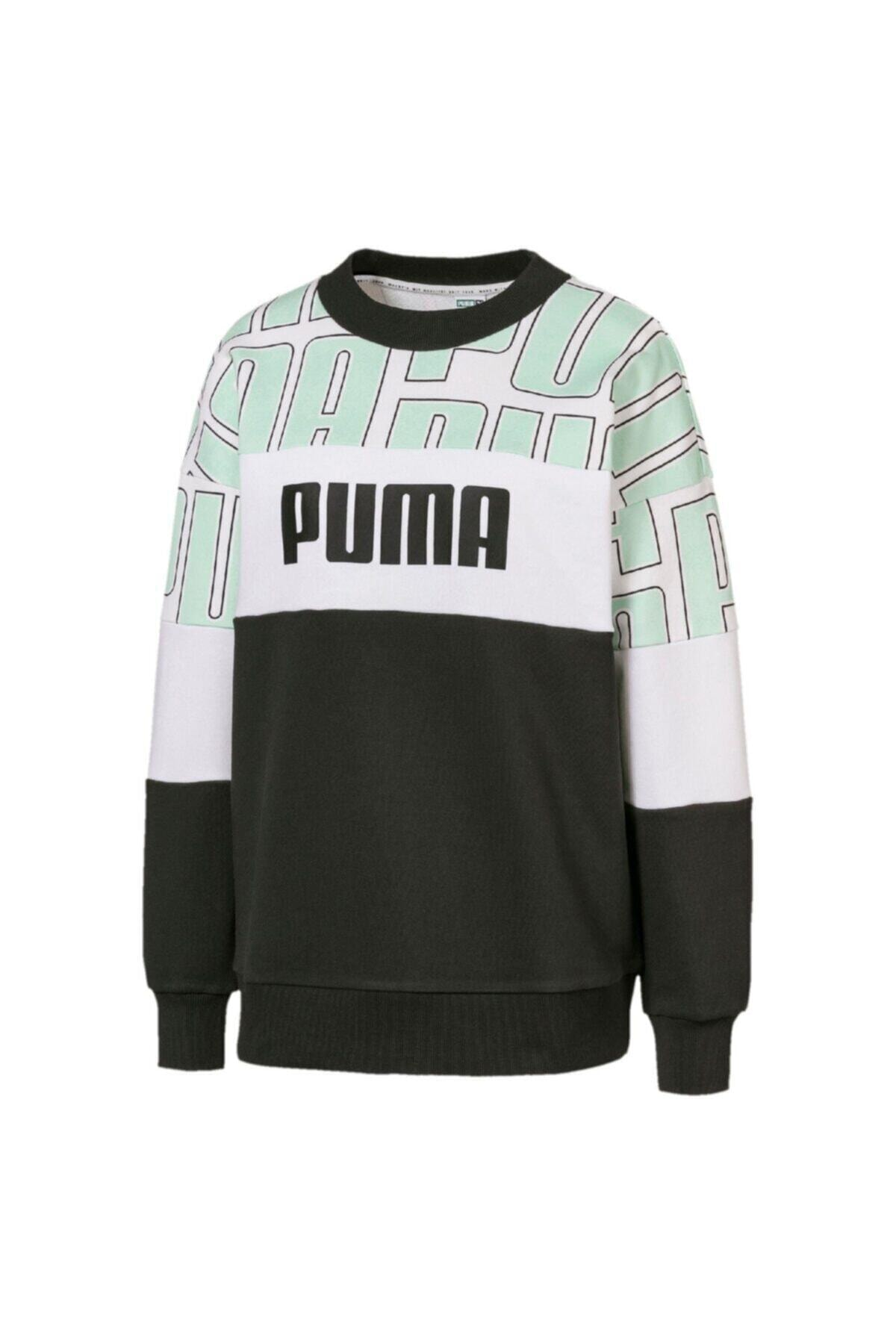 Puma Aop Crew Kadın Sweatshirt - 59625032 1