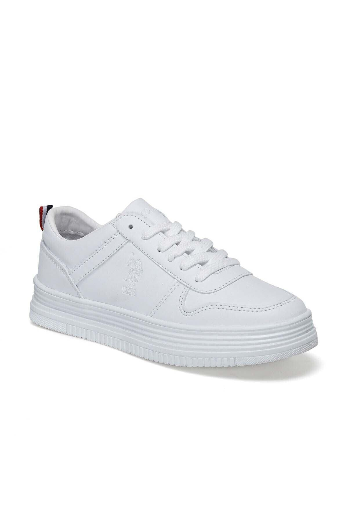 U.S. Polo Assn. Kadın Beyaz Spor Ayakkabı 100371036 1