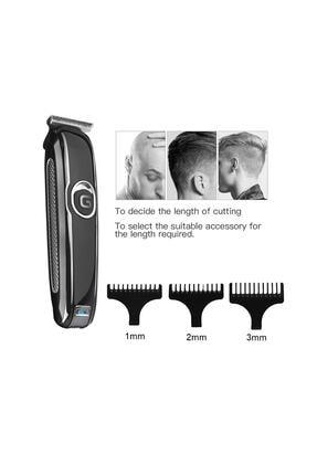 Eragon Profesyonel Şarjlı Saç Sakal Kesme Traş Tıraş Makinesi
