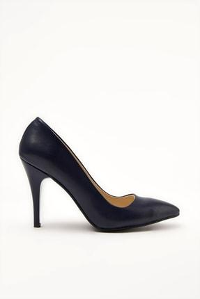 Yaya by Hotiç Lacivert Kadın Klasik Topuklu Ayakkabı 01AYY212140A230