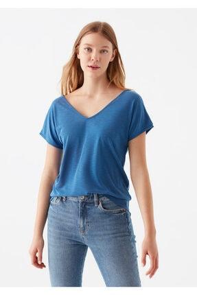Mavi Lux Touch Modal Tişört