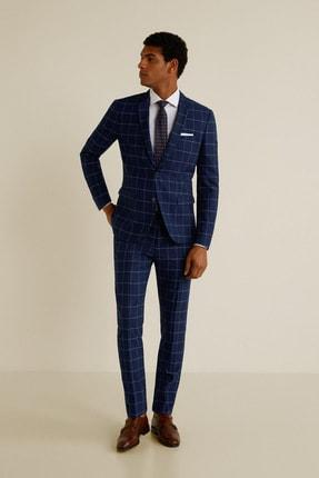 MANGO Man Erkek Mavi Pantolon 43053714
