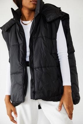 XENA Kadın Siyah Şişme Yelek 1KZK4-10804-02