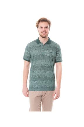 Karaca Erkek Yeşil Polo Yaka T-shirt