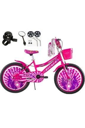 Rival Rvl 20 Jant Bisiklet-bisiklet-7-10 Yaş Çocuk Bisikleti-ayna-zil-yan Teker Hediyeli-pembe