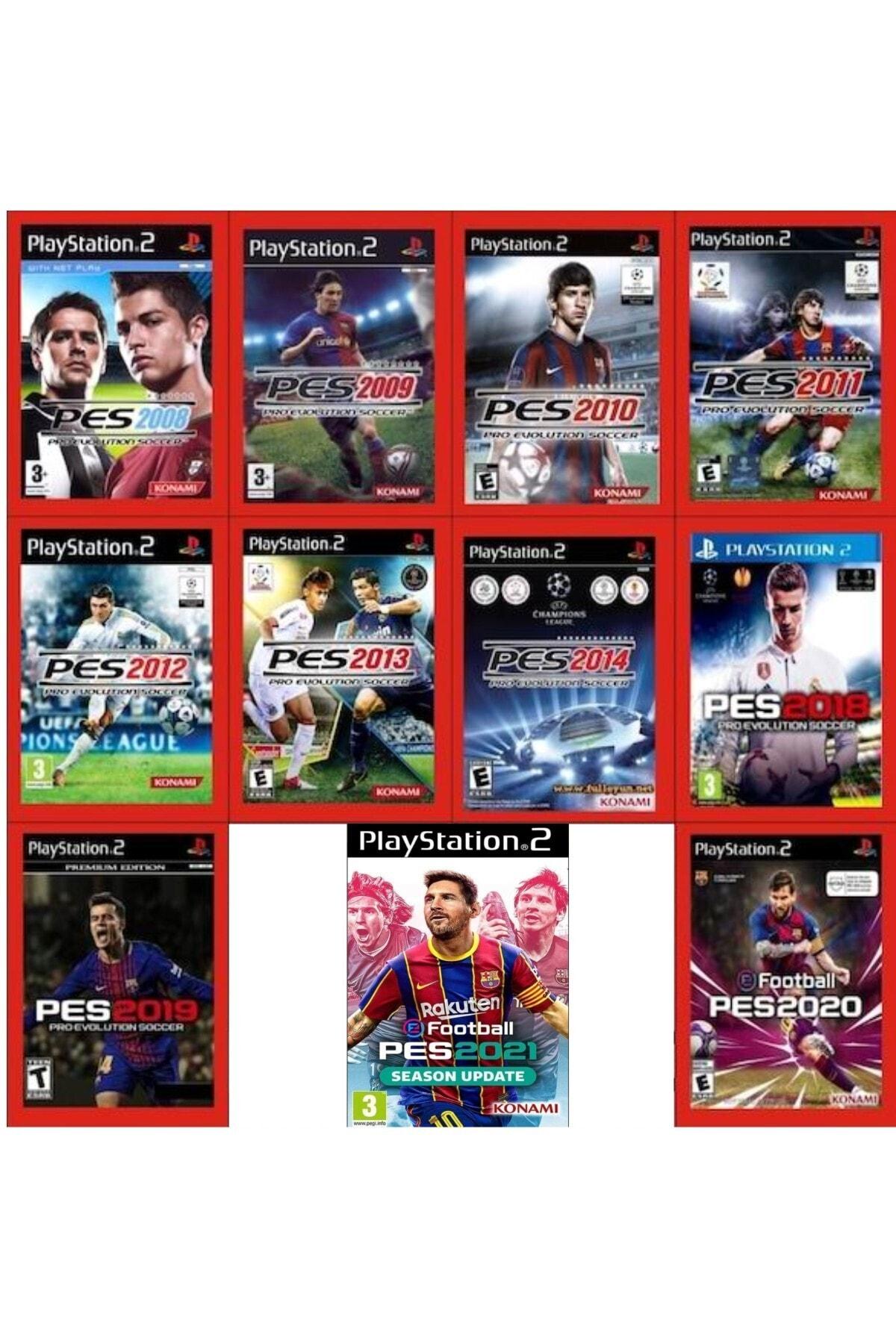 Sony Playstatıon 2 - Pes Serisi 11oyun 1