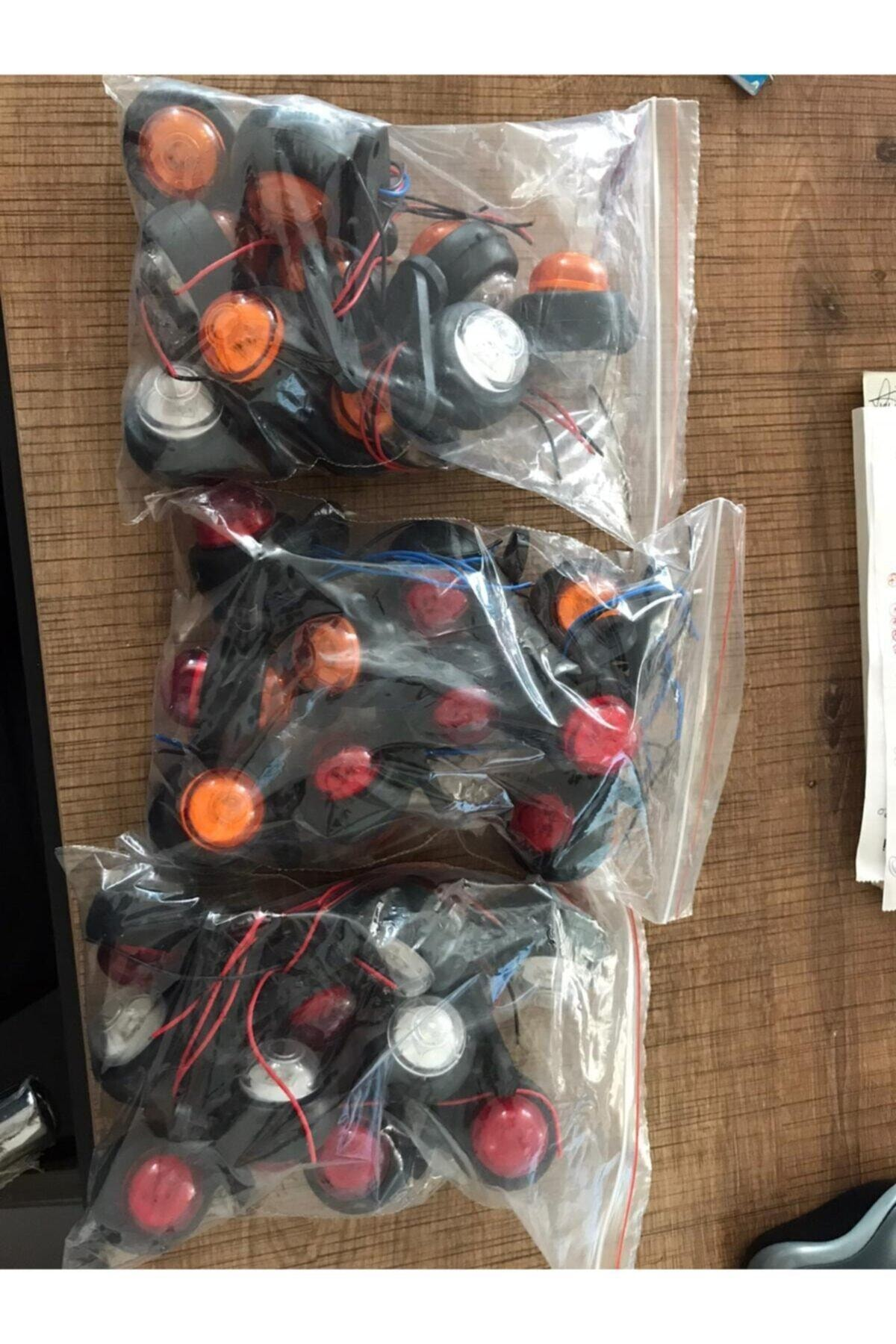 EMIR 10 Ad Mini Led Takoz Lamba Sarı Kırmızı 1