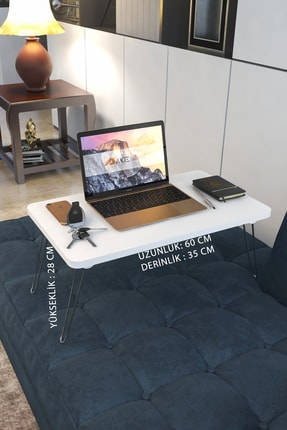 Aktehome Katlanır Laptop Sehpa Çalışma Kahvaltı Masası