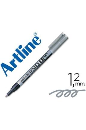 artline Metalik Gümüş Keçeli Kalem