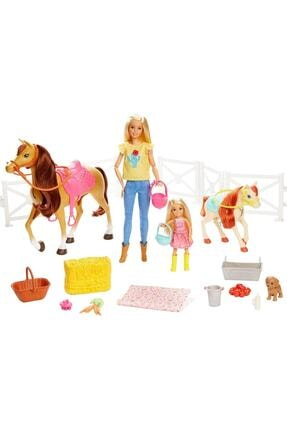 Barbie Ve Chelsea Muhteşem Atları Oyun Seti / 15 'ten Fazla Aksesuarlı / Fxh15