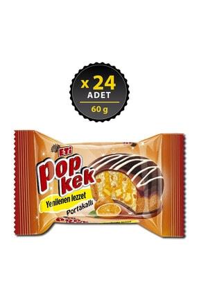 Eti Popkek Portakallı 60 g x 24 Adet