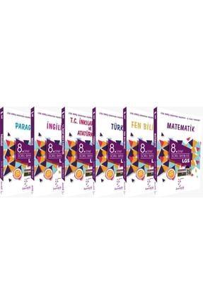 Karekök Yayınları 8.sınıf Soru Bankası Lgs Seti 6 Kitap
