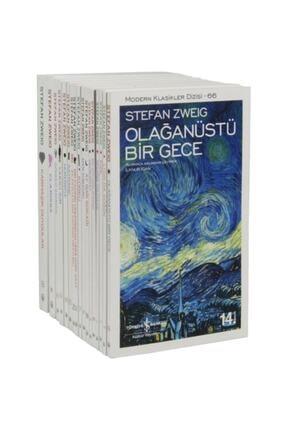 İş Bankası Kültür Yayınları Iş Kültür Stefan Zweig Kitapları Modern Klasikler Serisi 17 Kitap Set