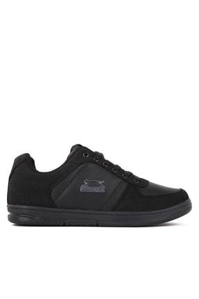 Slazenger POINT I Sneaker Kadın Ayakkabı Siyah SA20LK002