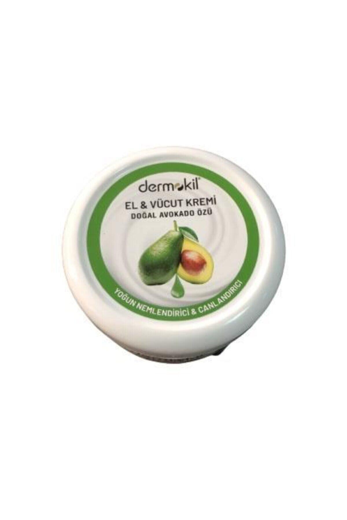 Dermokil Doğal Avokado Özü El Vücut Kremi 220ml Canlandırıcı 2
