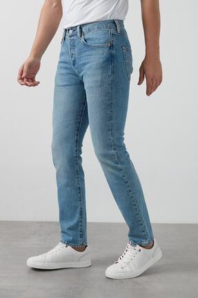 Levi's Erkek Mavi Pamuklu Regular Fit Jeans Kot Pantolon 005013108