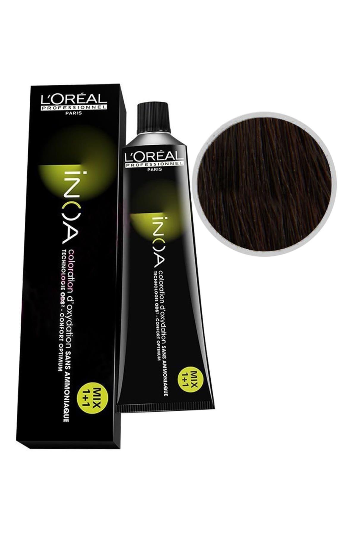 İNOA Inoa Saç Boyası 5,0 Açık Kahve 3474630462403 (OKSİDANSIZ) 1