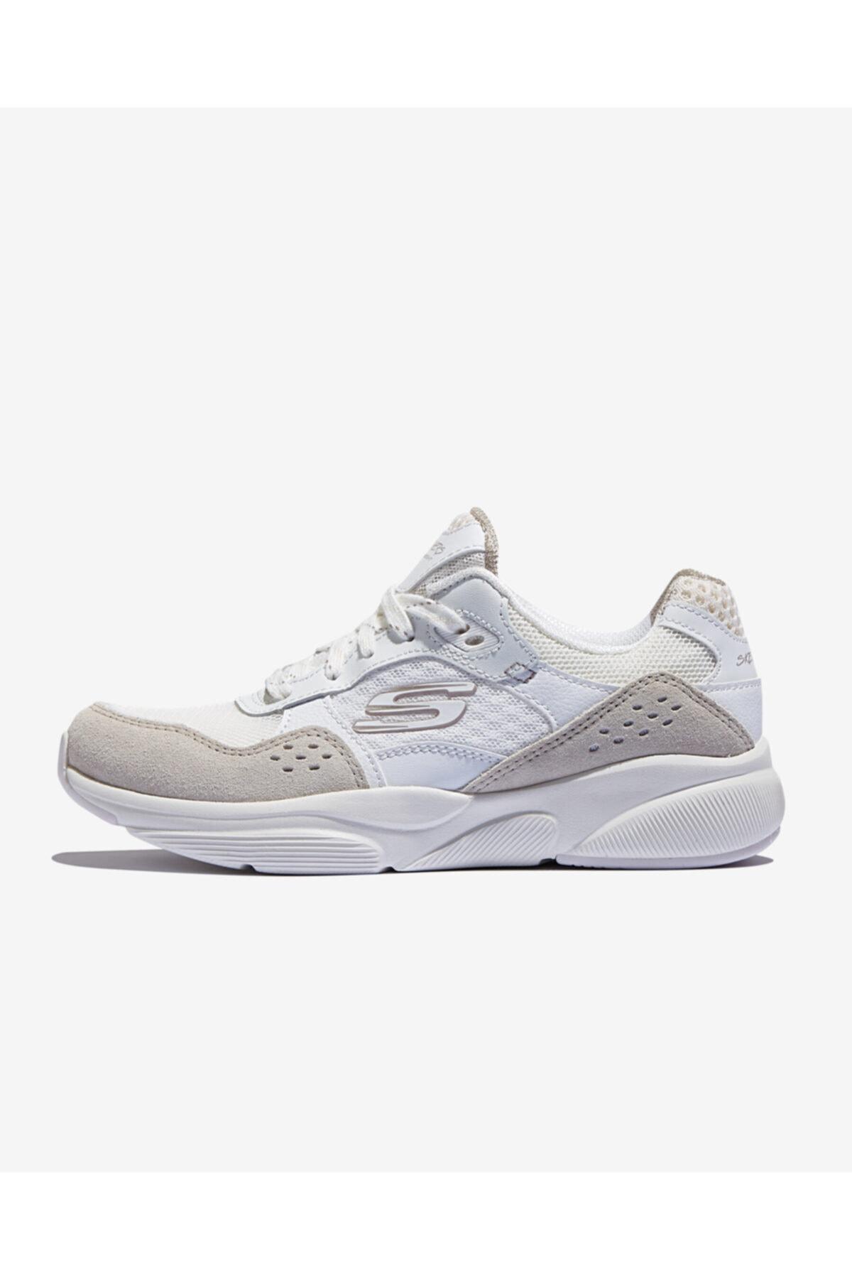 SKECHERS MERIDIAN-CHARTED Kadın Beyaz Spor Ayakkabı 1