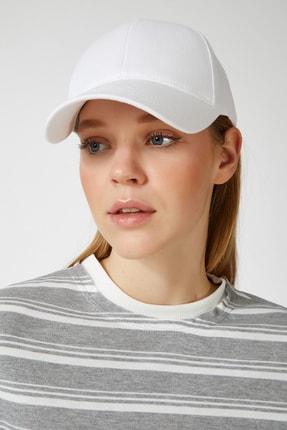 Happiness İst. Kadın Beyaz Unisex Baseball Cap Şapka PD00017