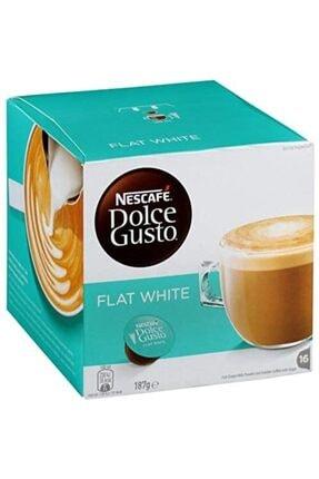 Nescafe Dolce Gusto Flat Whıte 16x Kapsül Kahve