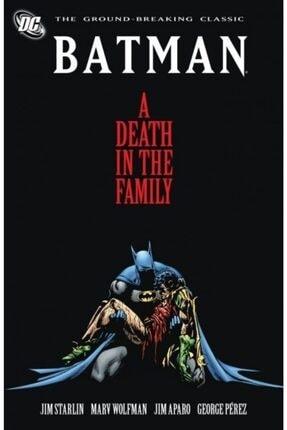 TM & DC Comics-Warner Bros Batman: A Death In The Family Ingilizce Çizgi Roman