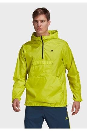 adidas Erkek Yeşil Rüzgarlık Gq1198