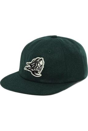 Vans - Sixty Sixers Vintage Unstructured Şapka Yeşil - Vn0a4tq3eeı1