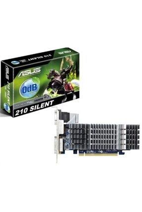 ASUS Nvidia Geforce 210 1gb 64bit Ddr3 (dx10.1) Pcı-e 2.0 Ekran Kartı - En210 Sılent/dı/1gd3/v2(lp)