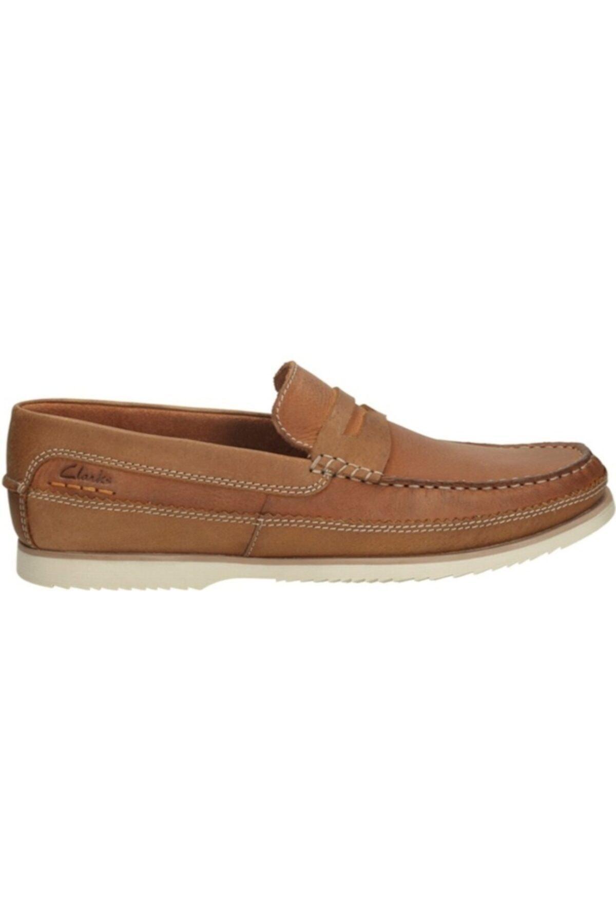 CLARKS Erkek Kahverengi  Nubuk Ayakkabı 1
